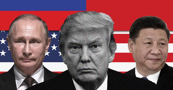 Ganh đua địa chính trị sẽ định hình thế giới năm 2018