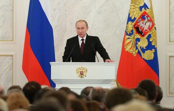 """""""Hé lộ"""" nội dung bản Thông điệp liên bang của Tổng thống Putin"""