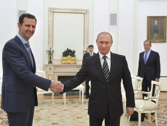 tong thong nga putin va tong thong syria assad la nhung cai gai trong mat cac the luc hieu chien phuong tay