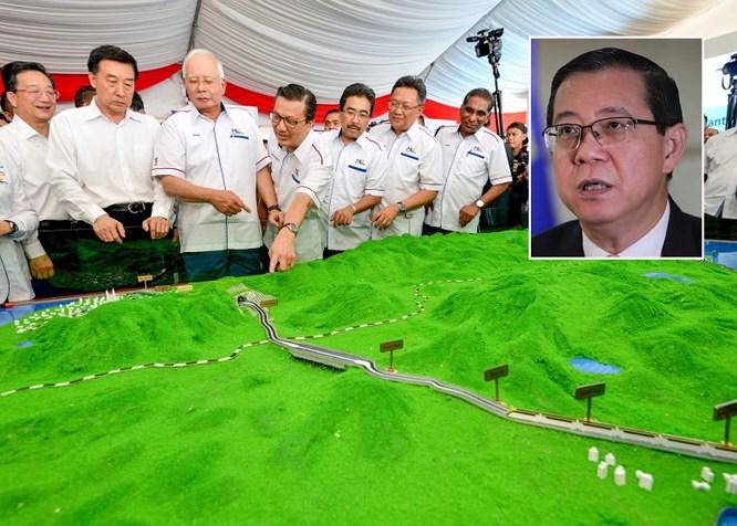 Malaysia đình chỉ thi công tuyến đường sắt Bờ biển phía Đông hợp tác với Trung Quốc