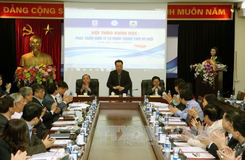 Đề xuất các giải pháp phát triển kinh tế tư nhân trong thời kỳ mới