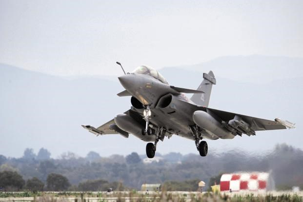 may bay chien dau rafale - anh: afp
