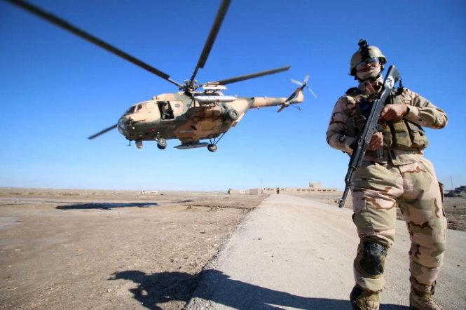 nhung nam gan day iraq bi mat nhieu truc thang do tai nan hoac bi phien quan ban ha - anh: afp