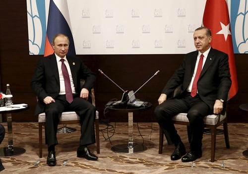 ong putin va erdogan tai hoi nghi g20, dien ra ngay 15-16/11 o antalya, tho nhi ky.. anh:reuters