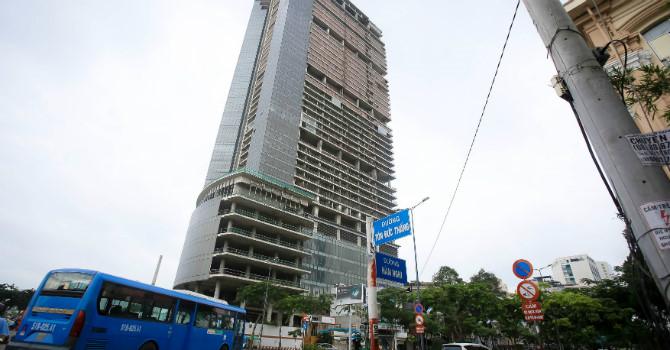 du an dau tu cao oc phuc hop sai gon m&c (saigon one tower) tai tp.hcm. anh: nld.com.vn