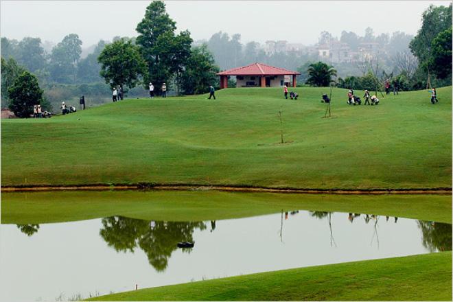 Hà Nội cho phép mở rộng sân golf Đồng Mô