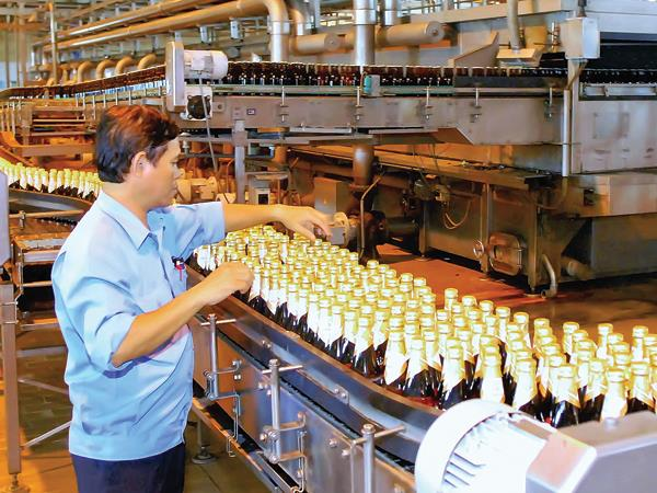 Sản xuất bia tăng tốc vào hè