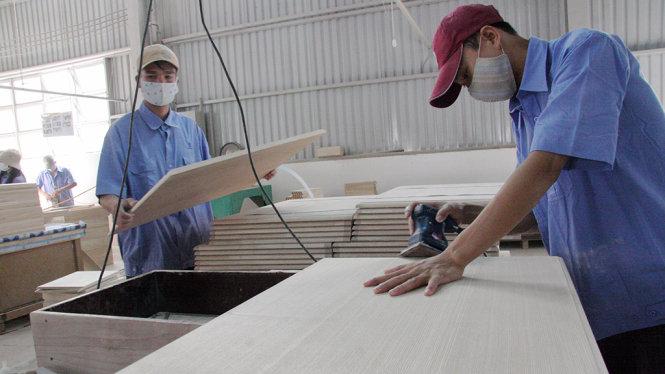 Doanh nghiệp ngành gỗ ngập đơn hàng