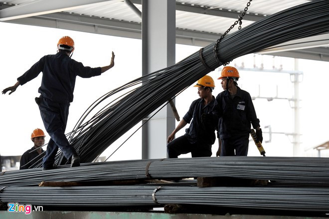 Nhập khẩu sản phẩm sắt thép từ Trung Quốc tăng mạnh