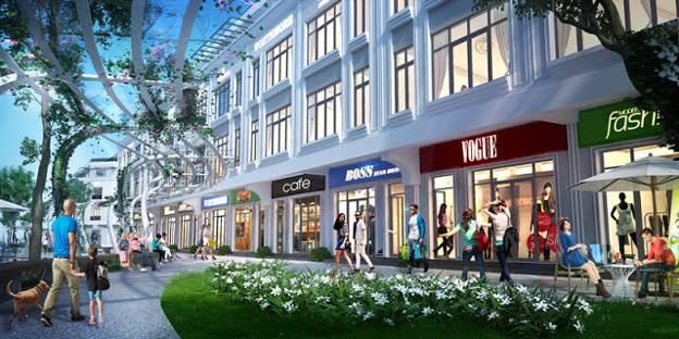 Shophouse Vinhomes Gardenia - phố mua sắm đẳng cấp nhất định phải ghé thăm trong tương lai