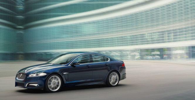 sieu xe jaguar xf premium luxury - anh: carophile