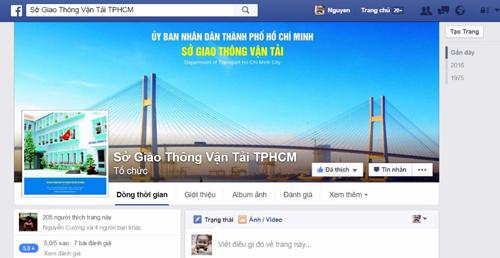 trang facebook cua so gtvt tp hcm du kien se ra mat cong dong mang vao dau thang 3.