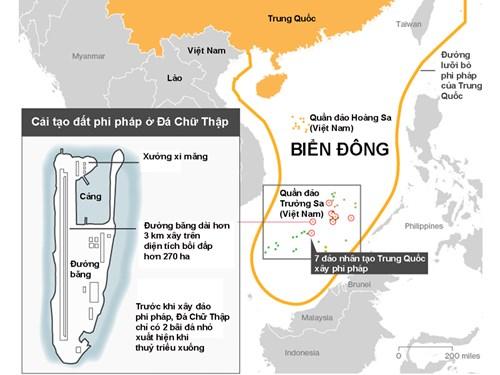 Cựu thủ tướng Malaysia: ASEAN khó đối đầu Trung Quốc trên Biển Đông