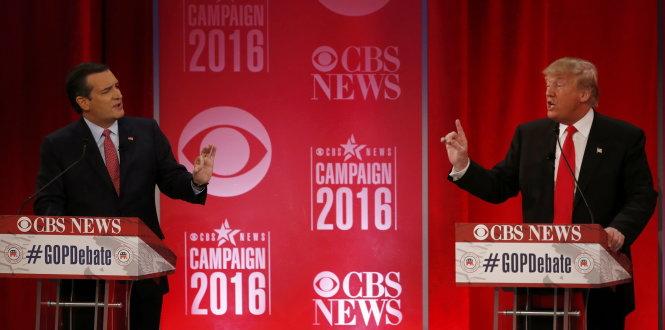 Tranh cử tổng thống Mỹ: Cuộc tranh luận nảy lửa nhất của các ứng viên Cộng hòa