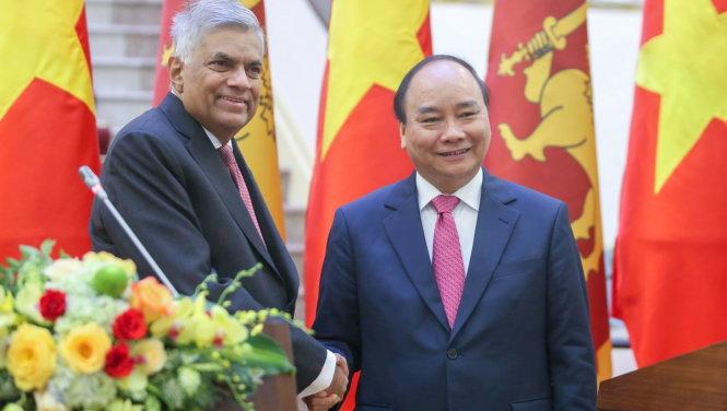 Đưa kim ngạch thương mại Việt Nam - Sri Lanka lên 1 tỉ USD