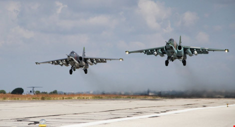 may bay su-25 cua nga cat canh o syria