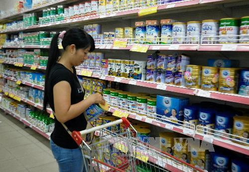 Hàng loạt sữa bột trẻ em của Vinamilk tăng giá từ 1/8/2018