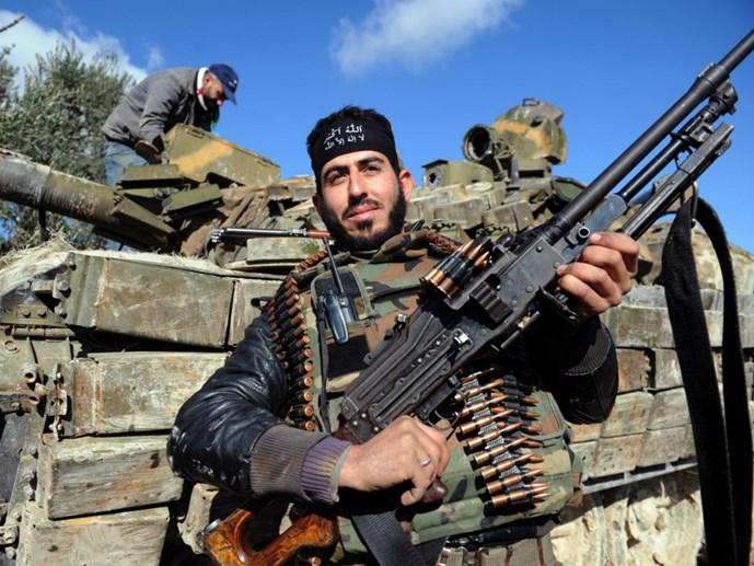 tong thong my barack obama da ra lenh cung cap vu khi cho phe noi day o syria - anh: afp