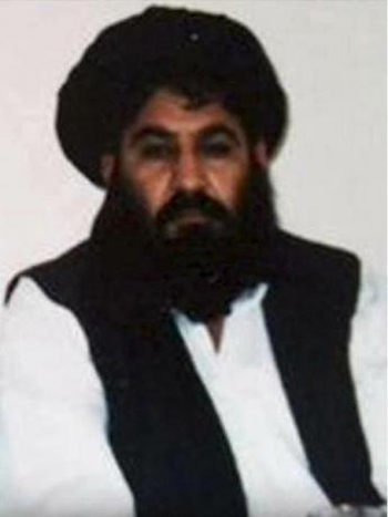 mullah akhtar mohammad mansour, thu linh taliban o afghanistan. anh:reuters