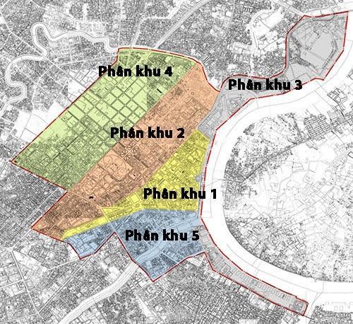 Tăng nhiệt bất động sản các khu trung tâm mới của TP. HCM