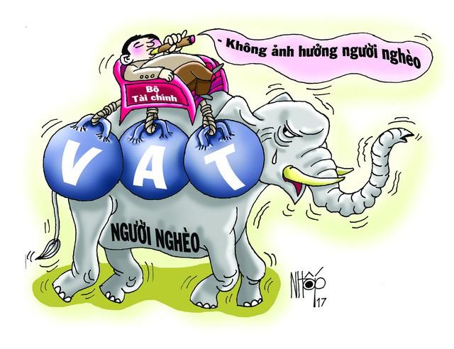 Tăng thuế VAT: Sẽ có thêm 202.000 người nghèo?