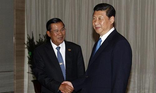 Viện trợ từ Trung Quốc có thể là con dao hai lưỡi với Campuchia