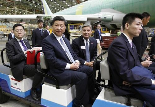 Boeing xây nhà máy đầu tiên tại Trung Quốc