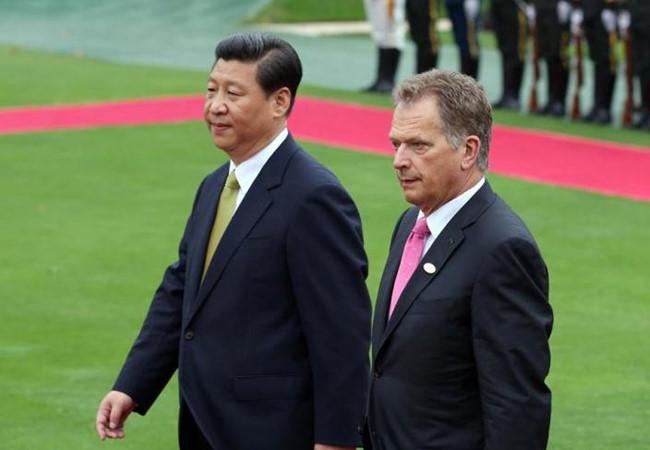 """Trung Quốc đưa Phần Lan và Bắc Cực vào """"Một vành đai, một con đường"""""""