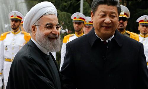 Nga, Mỹ tranh hùng, Trung Quốc đắc lợi tại Trung Đông