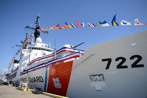 tau tuan tra morgenthau (whec 722) lop hamilton my ban giao cho viet nam, anh: us coast guard.