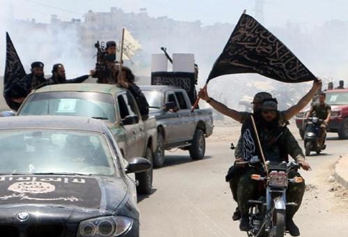cac tay sung al-nusra front, mot nhanh cua mang luoi khung bo al-qaeda, o syria - anh: afp