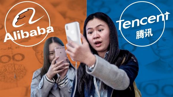 Thế lực của Alibaba và Tencent đằng sau các startup Trung Quốc