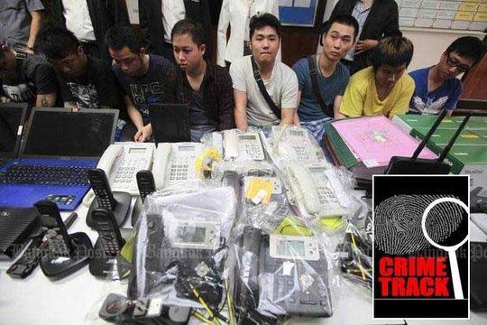 Thái Lan truy quét tội phạm Trung Quốc