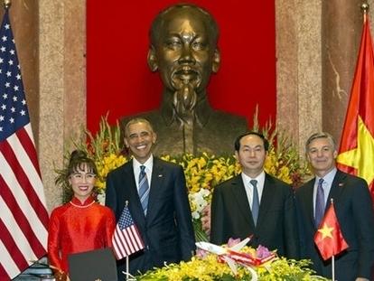 Tin tức tình hình Biển Đông tối 13-11-2017: Việt Mỹ ký loạt thỏa thuận Thương Mại trị giá 12 tỉ USD