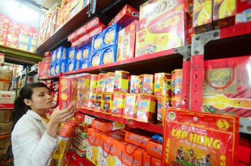 Thị trường bánh kẹo trong nước co cụm