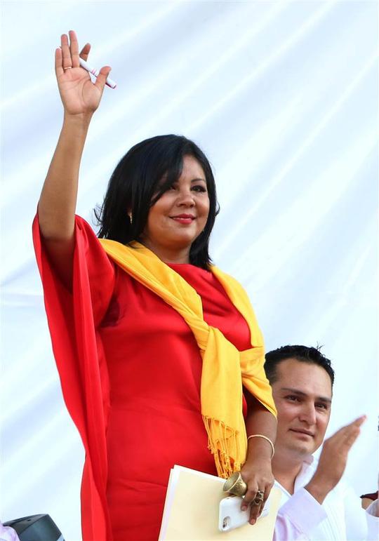 Bà Gisela Mota bị giết hại chỉ 1 ngày sau khi nhậm chức. Ảnh: AP