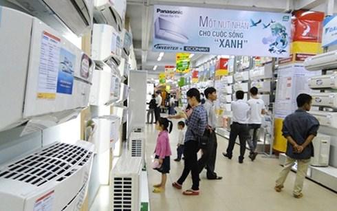 Hàng điện gia dụng và linh kiện xuất xứ từ Thái Lan chiếm 54,8% tổng kim ngạch