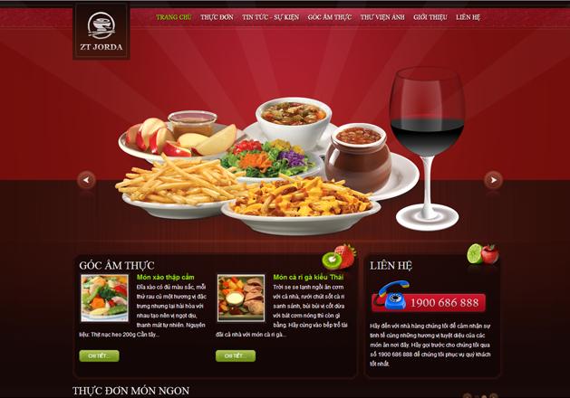 Website giới thiệu nhà hàng có phải đăng ký?