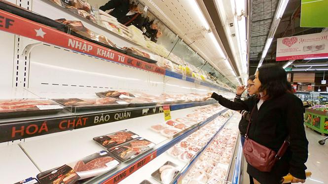 56% thịt nhập khẩu vào Việt Nam từ Mỹ và Ấn Độ