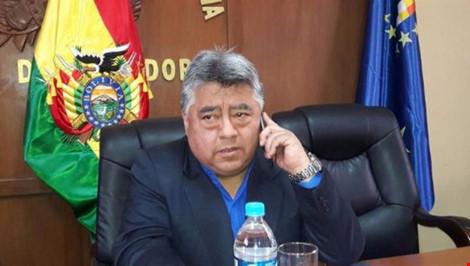 thu truong noi vu bolivia rodolfo illanes bi tho mo bat coc va danh chet. anh: twitter