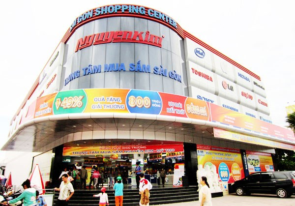 power buy (thuoc central group) hien so huu 49% co phan cua nguyen kim. anh: internet.