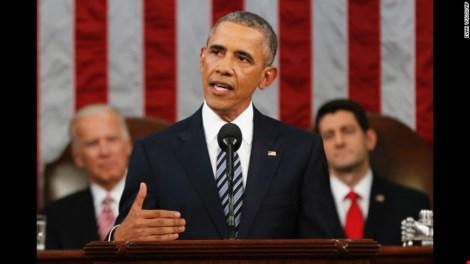 Thông điệp liên bang của ông Obama và tầm nhìn về nước Mỹ