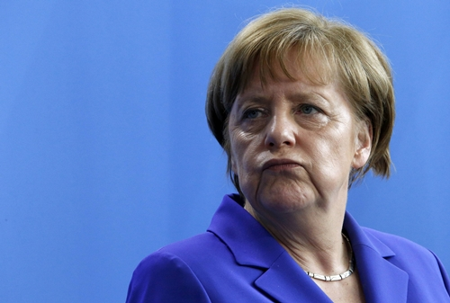 thu tuong duc angela merkel. anh: reuters.