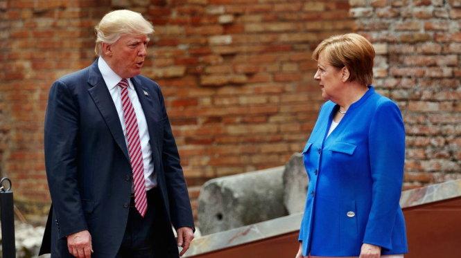 Thủ tướng Đức có thực sự thách thức tổng thống Mỹ?