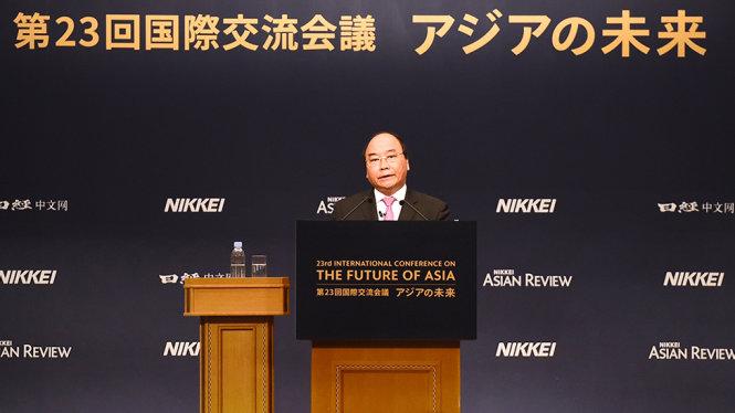 Thủ tướng Nguyễn Xuân Phúc: Toàn cầu hóa và giấc mơ châu Á