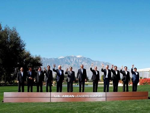 tong thong obama va cac lanh dao asean chup anh chung tai thuong dinh sunnylands, california ngay 16.2.2016 - anh: reuters
