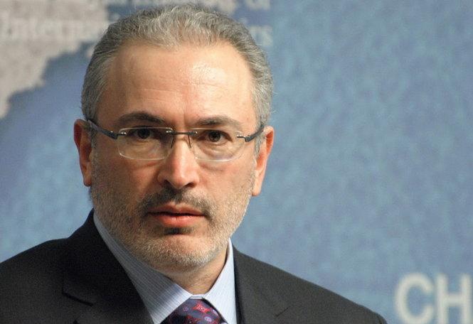 ong khodorkovski tung la nguoi giau nhat nuoc nga nho hoat dong buon ban dau mo - anh: khodorkovski.com