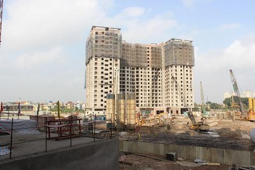 Tiến độ loạt dự án chung cư giá rẻ đang rầm rộ mở bán dọc Đại lộ Thăng Long