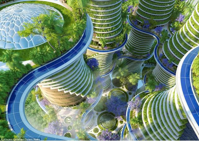 Tiết lộ về kiệt tác kiến trúc xanh khổng lồ trong tương lai tại Ấn Độ