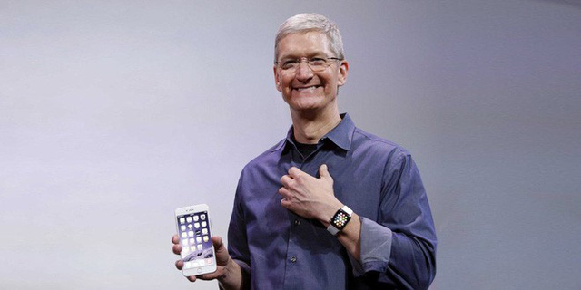 apple dang cho thay toc do tang truong cuc ky manh me.